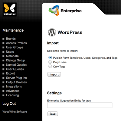 The WordPress Maintenance page
