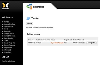 Twitter Maintenance page