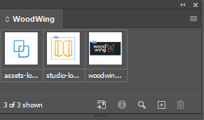 An InDesign library.