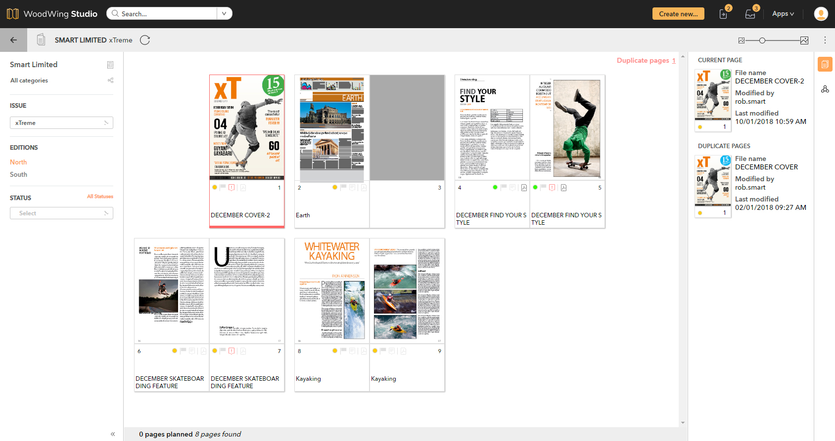 The Publication Overview Application